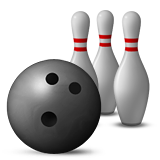 Bowling Emoji (Apple/iOS Version)
