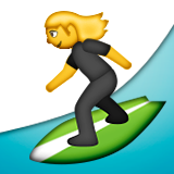Surfer Emoji (Apple/iOS Version)
