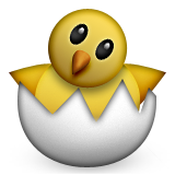 Hatching Chick Emoji (Apple/iOS Version)