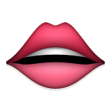 Mouth Emoji (Apple/iOS Version)