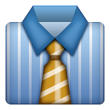Necktie Emoji (Apple/iOS Version)