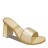 Womans Sandal Emoji (Apple/iOS Version)