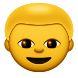 Boy Emoji (Apple/iOS Version)