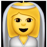 Bride With Veil Emoji Le Ios Version