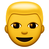 Person With Blond Hair Emoji (Apple/iOS Version)