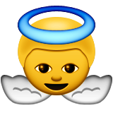 Baby Angel Emoji (Apple/iOS Version)