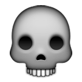 Skull Emoji (Apple/iOS Version)