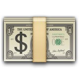 Banknote With Dollar Sign Emoji (Apple/iOS Version)