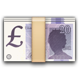 Banknote With Pound Sign Emoji (Apple/iOS Version)