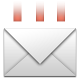 Incoming Envelope Emoji (Apple/iOS Version)