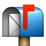 Open Mailbox With Raised Flag Emoji (Apple/iOS Version)