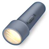 Electric Torch Emoji (Apple/iOS Version)