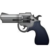 Pistol Emoji (Apple/iOS Version)