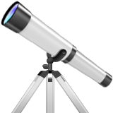 Telescope Emoji (Apple/iOS Version)