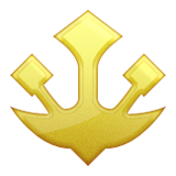 Trident Emblem Emoji (Apple/iOS Version)