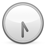 Clock Face Five-thirty Emoji (Apple/iOS Version)