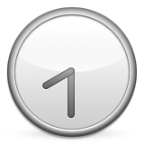 Clock Face Eight-thirty Emoji (Apple/iOS Version)