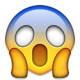 Image result for scared emoji