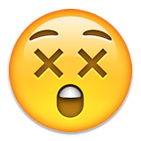 Astonished Face Emoji (Apple/iOS Version)