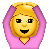 Face With Ok Gesture Emoji (Apple/iOS Version)