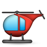 Helicopter Emoji (Apple/iOS Version)