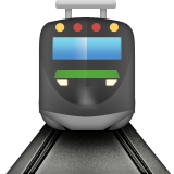 Tram Emoji (Apple/iOS Version)