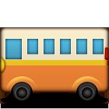 Image result for bus emoji png