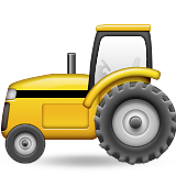 Tractor Emoji (Apple/iOS Version)