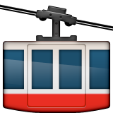 Mountain Cableway Emoji (Apple/iOS Version)