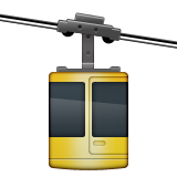 Aerial Tramway Emoji (Apple/iOS Version)