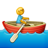 Rowboat Emoji (Apple/iOS Version)