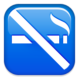 No Smoking Symbol Emoji (Apple/iOS Version)