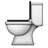 Toilet Emoji Apple IOS Version