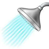 Shower Emoji (Apple/iOS Version)