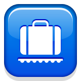 Baggage Claim Emoji (Apple/iOS Version)