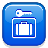 Left Luggage Emoji (Apple/iOS Version)