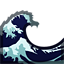 Wave Emoji Water Wave Emoji - Cop...