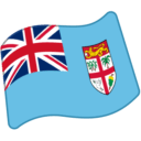 Flag For Fiji Emoji Icon