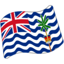 Flag For British Indian Ocean Territory Emoji Icon