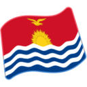 Flag For Kiribati Emoji - Hangouts / Android Version