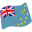 Flag For Tuvalu Emoji - Hangouts / Android Version
