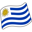 Flag For Uruguay Emoji - Hangouts / Android Version