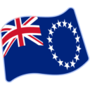 Flag For Cook Islands Emoji Icon