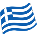 Flag For Greece Emoji Icon