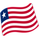 Flag For Liberia Emoji Icon
