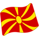 Flag For Macedonia Emoji Icon
