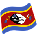 Flag For Swaziland Emoji Icon