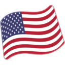 Flag For United States Emoji - Hangouts / Android Version
