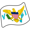 Flag For U.S. Virgin Islands Emoji Icon